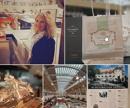 Preparation chocolate villa fan event in November 2020